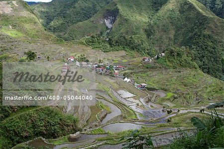rice terraces in northern luzon the philippines Stock Photo - Budget Royalty-Free, Image code: 400-05044040