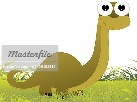 garden background with dragon illustration Stock Photo - Budget Royalty-Free, Image code: 400-05152512