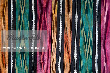 Detail of an Indonesian ulos design Stock Photo - Budget Royalty-Free, Image code: 400-05158885