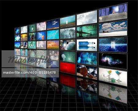 Video Display Stock Photo - Budget Royalty-Free, Image code: 400-05185478