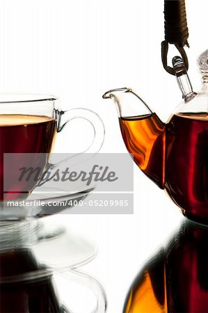 Tea service Stock Photo - Budget Royalty-Free, Image code: 400-05209985