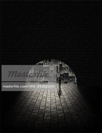 City Tunnel Stock Photo - Budget Royalty-Free, Image code: 400-05252259