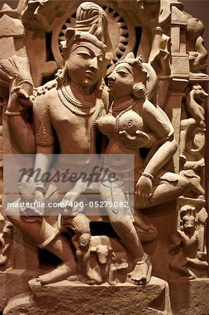 Nort-Central India, XI century A.D., Sandstone Stock Photo - Budget Royalty-Free, Image code: 400-05275082