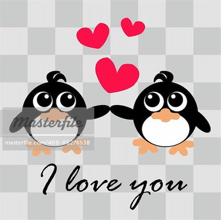 I love you card Stock Photo - Budget Royalty-Free, Image code: 400-05276538