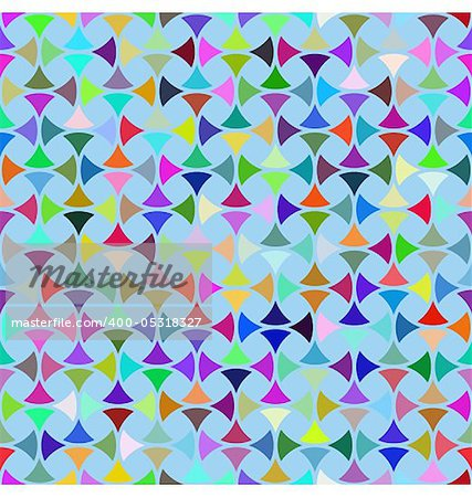 Abstract design with geometric shapes optical illusion illustration Stock Photo - Budget Royalty-Free, Image code: 400-05318327