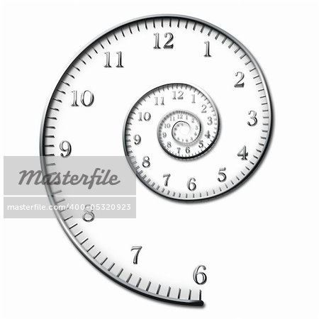 Time Spiral Stock Photo - Budget Royalty-Free, Image code: 400-05320923