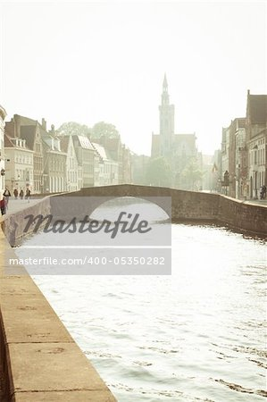 Channel's of Brugge Stock Photo - Budget Royalty-Free, Image code: 400-05350282