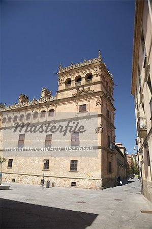 view of Salamanca city in Castilla Spain Europe