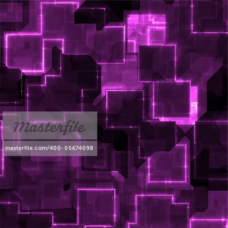 abstract cyber light technology background with a purple tint