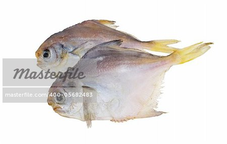 Dried fish. Piranha. Snacks to beer. Isolated on white Stock Photo - Budget Royalty-Free, Image code: 400-05682483