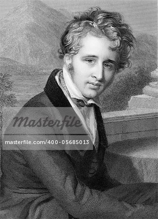 Dudley Ryder, 3rd Earl of Harrowby (1831-1900) on engraving from 1800s. British peer and politician. Engraved by H.Robinson and published by G.Virtue. Stock Photo - Budget Royalty-Free, Image code: 400-05685013