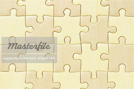Close up image of checkered wooden jigsaw puzzle background Stock Photo - Budget Royalty-Free, Image code: 400-05686260