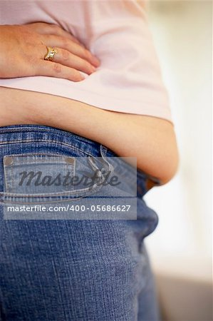 Detail Of Overweight Woman Stock Photo - Budget Royalty-Free, Image code: 400-05686627