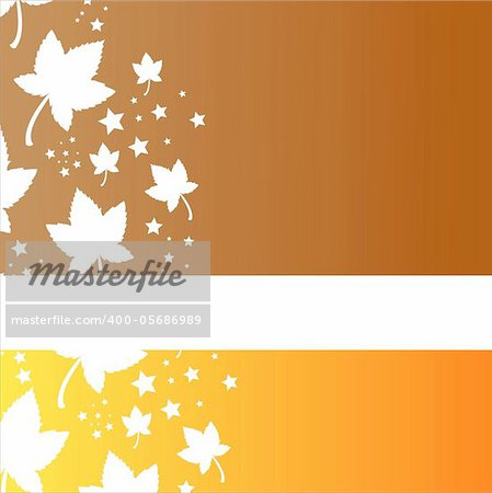 stylish autumn background