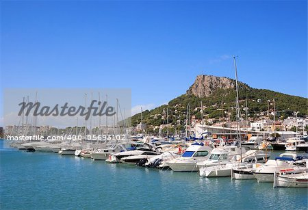 Sailing boats and yachts (Estartit, Costa Brava, Spain)