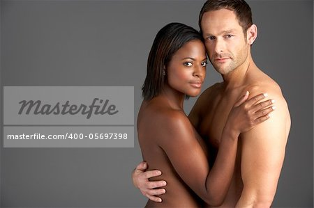 Young Naked Couple Embracing Stock Photo - Budget Royalty-Free, Image code: 400-05697398