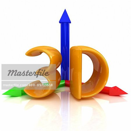3d text Stock Photo - Budget Royalty-Free, Image code: 400-05713518