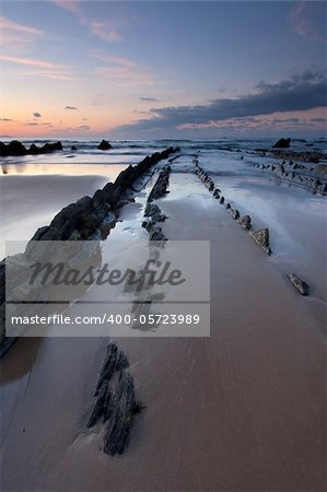 Beach of Barrika, Bizkaia, Basque Country, Spain Stock Photo - Budget Royalty-Free, Image code: 400-05723989