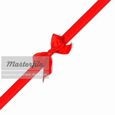 An image of a nice red bow