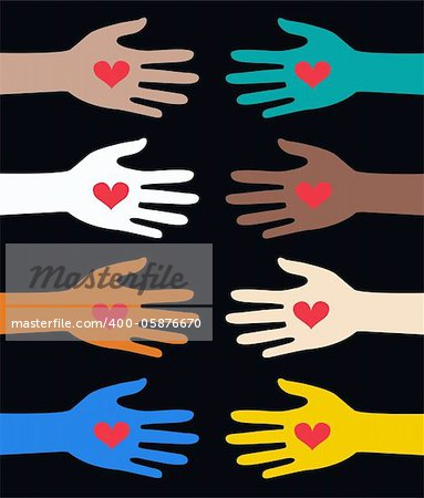 helping human hands