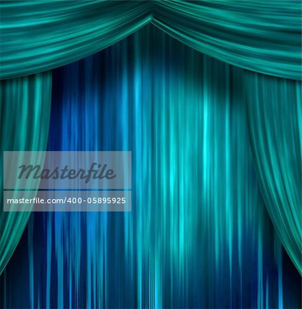 Theater Curtains Stock Photo - Budget Royalty-Free, Image code: 400-05895925