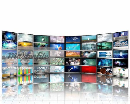 Video Display Stock Photo - Budget Royalty-Free, Image code: 400-05903659