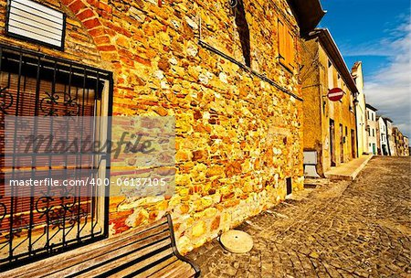 Narrow Alley with Old Buildings in the Italian City of Trevinano Stock Photo - Budget Royalty-Free, Image code: 400-06137105
