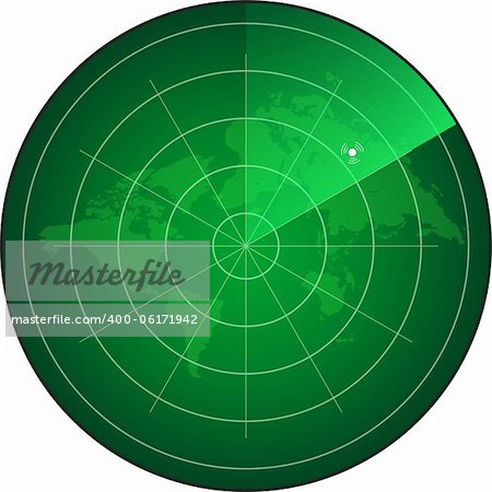 radar screen Stock Photo - Budget Royalty-Free, Image code: 400-06171942
