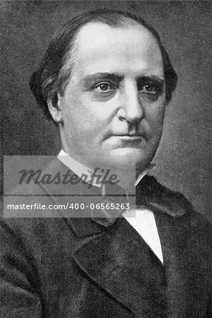 "Franz Abt (1819-1885) on engraving from 1908. German composer and choral conductor. Engraved by unknown artist and published in ""The world's best music, famous songs. Volume 6"", by The University Society, New York,1908. Stock Photo - Budget Royalty-Free, Image code: 400-06565263"