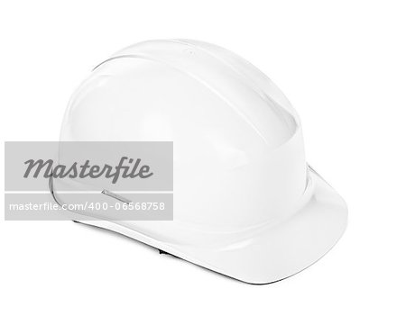 white hard hat, minimal shadow under object Stock Photo - Budget Royalty-Free, Image code: 400-06568758