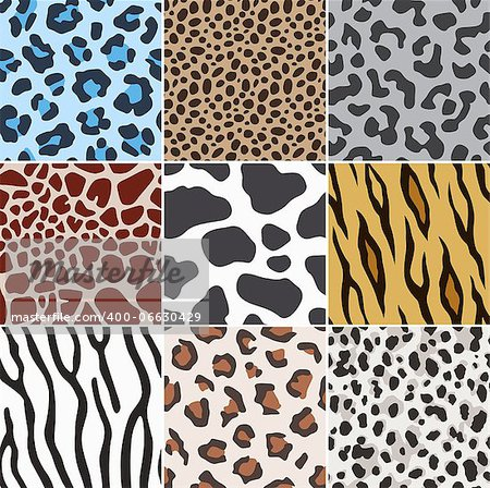 seamless animal skin fabric pattern Stock Photo - Budget Royalty-Free, Image code: 400-06630429