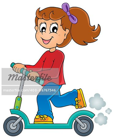 Kids play theme image 4 - eps10 vector illustration. Stock Photo - Budget Royalty-Free, Image code: 400-06767346