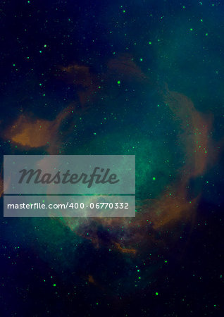 Small part of an infinite star field of space in the Universe Stock Photo - Budget Royalty-Free, Image code: 400-06770332