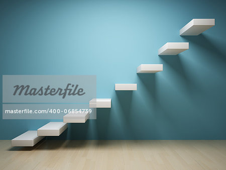 Abstract stair in interior Stock Photo - Budget Royalty-Free, Image code: 400-06854739