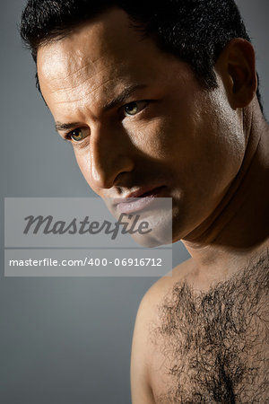 An image of a handsome male portrait Stock Photo - Budget Royalty-Free, Image code: 400-06916712