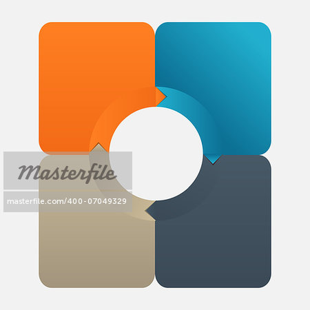 Infographic business template vector illustration Stock Photo - Budget Royalty-Free, Image code: 400-07049329