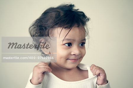 A beautiful Indian baby boy. Stock Photo - Budget Royalty-Free, Image code: 400-07122966