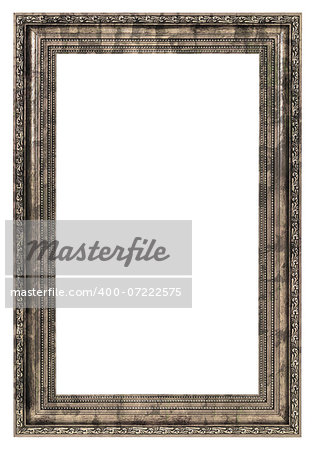 dirty frame with thick border isolated on white background Stock Photo - Budget Royalty-Free, Image code: 400-07222575