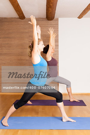 An image of some people doing yoga exercises Stock Photo - Budget Royalty-Free, Image code: 400-07407064