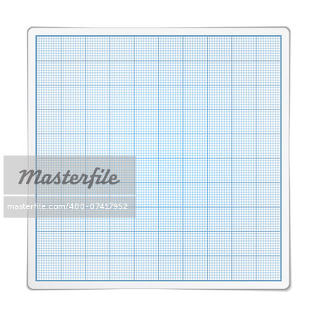 Square graph paper on white background, vector eps10 illustration Stock Photo - Budget Royalty-Free, Image code: 400-07417952