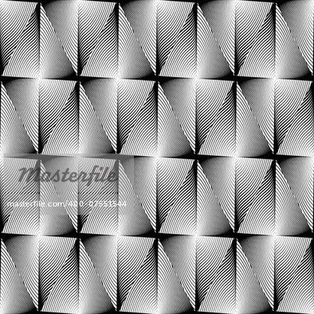 Design seamless diamond trellised pattern. Abstract geometric monochrome background. Speckled texture. Vector art. No gradient