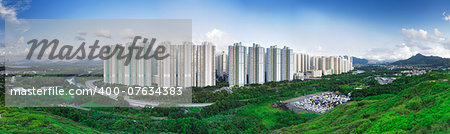 Public Estate in Hong Kong at day Stock Photo - Budget Royalty-Free, Image code: 400-07634383