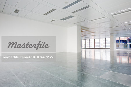 Bright empty office building interior Stock Photo - Budget Royalty-Free, Image code: 400-07667235