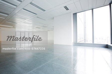 Bright empty office building interior Stock Photo - Budget Royalty-Free, Image code: 400-07667236