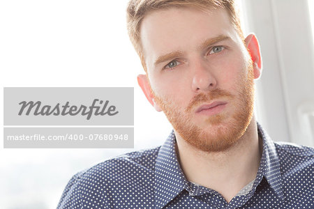 Handsome guy in blue shirt Stock Photo - Budget Royalty-Free, Image code: 400-07680948