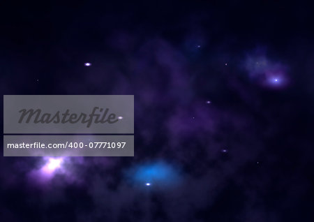 "Small part of an infinite star field of space in the Universe. ""Elements of this image furnished by NASA"". Stock Photo - Budget Royalty-Free, Image code: 400-07771097"