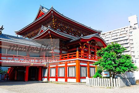 Osu Kannon temple in Nagoya , Japan Stock Photo - Budget Royalty-Free, Image code: 400-08032287