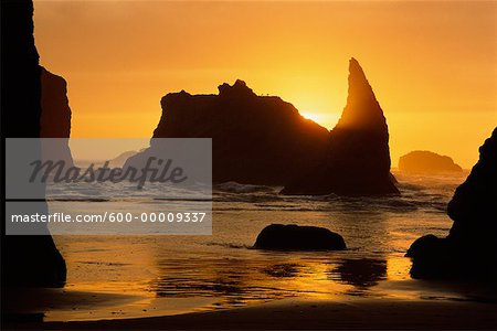 Bandon Beach Oregon Coast, USA