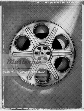 Film Reel Stock Photo - Premium Royalty-Free, Image code: 600-00036761
