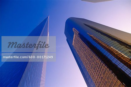 Buildings, Los Angeles, California, USA Stock Photo - Premium Royalty-Free, Image code: 600-00171249